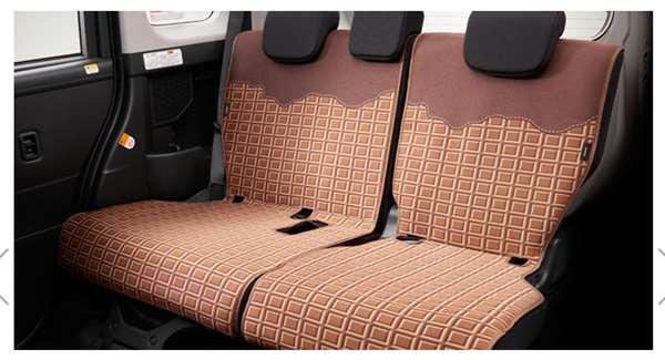 『ルーミー』 純正 M900A M910A シートエプロン(リヤセット) パーツ トヨタ純正部品 汚れから保護 セミシートカバー オプション アクセサリー 用品