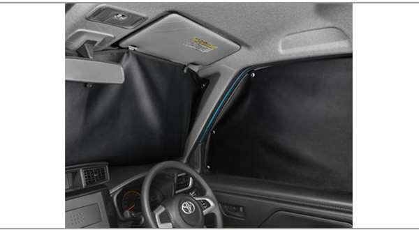 『ルーミー』 純正 M900A M910A プライバプライバシーシェード(フロント) パーツ トヨタ純正部品 日除け サンシェード サンシェイド オプション アクセサリー 用品
