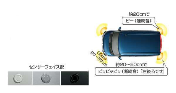 『ルーミー』 純正 M900A M910A コーナーセンサー部分のみ(センサーキット) ※インジケーターは別売 パーツ トヨタ純正部品 危険通知 接触防止 障害物 オプション アクセサリー 用品