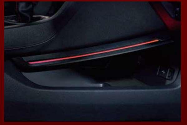 『シビック タイプR』 純正 FK8 センターコンソールイルミネーション パーツ ホンダ純正部品 照明 明かり ライト オプション アクセサリー 用品
