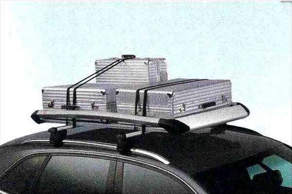 Q3 パーツ ラゲッジラック※ルーフバーは別売り アウディ純正部品 8UCPSF 8UCCZF オプション アクセサリー 用品 純正 送料無料