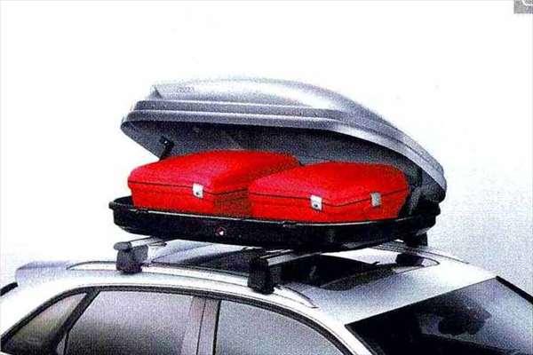 Q3 パーツ ラゲッジルーフボックス※ルーフバーは別売り アウディ純正部品 8UCPSF 8UCCZF オプション アクセサリー 用品 純正 送料無料