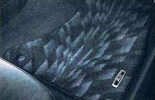 A8 パーツ フロアマット(プレミアム)ブラック/左ハンドル用 アウディ純正部品 4HCREF 4HCTGF 4HCTGL オプション アクセサリー 用品 純正 マット 送料無料