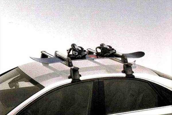 A8 パーツ スキー&スノーボードホルダー(標準タイプ)※ルーフバーは別売り アウディ純正部品 4HCREF 4HCTGF 4HCTGL オプション アクセサリー 用品 純正