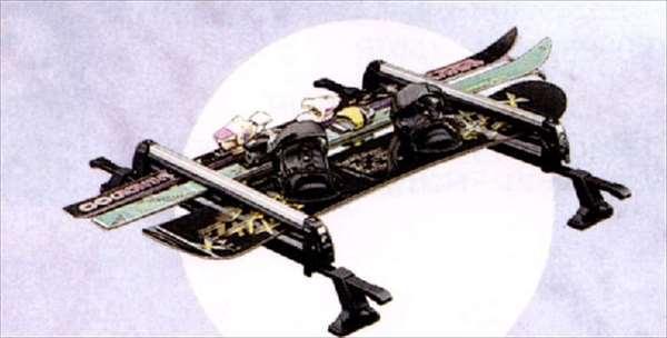 『スイフト』 純正 ZC11 ZC71 ZD11 ZC31 スキー&スノーボードアタッチメント パーツ スズキ純正部品 キャリア別売り swift オプション アクセサリー 用品