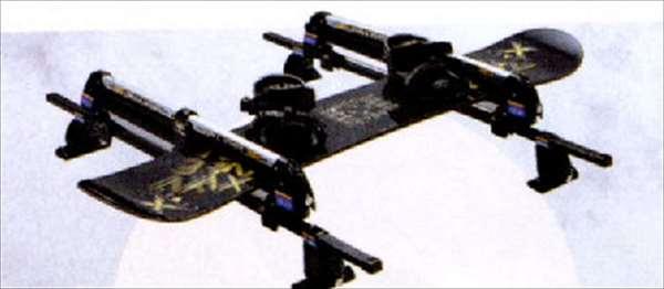 『スイフト』 純正 ZC11 ZC71 ZD11 ZC31 TERZO スキー&スノーボードアタッチメント パーツ スズキ純正部品 キャリア別売り swift オプション アクセサリー 用品