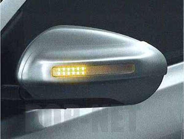 附带正牌的KJ10 KNJ10方向指示灯的门镜覆盖物零件日产纯正零部件反光镜覆盖物特别定做DUALIS选项配饰用品