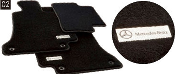 『CLS』 純正 LDA DAA フロアマットプレミアム パーツ ベンツ純正部品 フロアカーペット カーマット カーペットマット オプション アクセサリー 用品