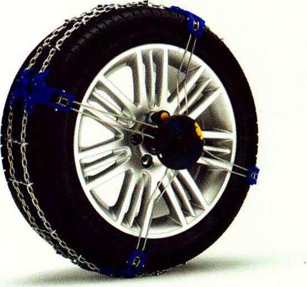 XC60 パーツ スノーチェーン 適応タイヤサイズ:235/65R17、235/60R18 ※タイヤは別売です ボルボ純正部品 DB6304TXC オプション アクセサリー 用品 純正 送料無料