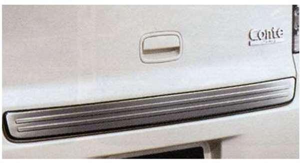 『ムーヴコンテ』 純正 L585S バックドアガーニッシュ パーツ ダイハツ純正部品 moveconte オプション アクセサリー 用品