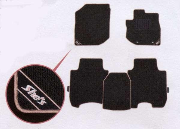 『フィット』 純正 GE6 GE7 GE8 GE9 GP1 GP4 フロアカーペットマット(ヒールパット付) パーツ ホンダ純正部品 フロアカーペット カーマット カーペットマット FIT オプション アクセサリー 用品