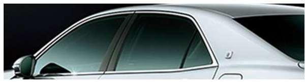 『クラウンアスリート』 純正 ARS210 AWS210 GRS211 GRS214 AWS211 IR(赤外線)カットフィルム リヤサイド パーツ トヨタ純正部品 日除け カーフィルム crown オプション アクセサリー 用品
