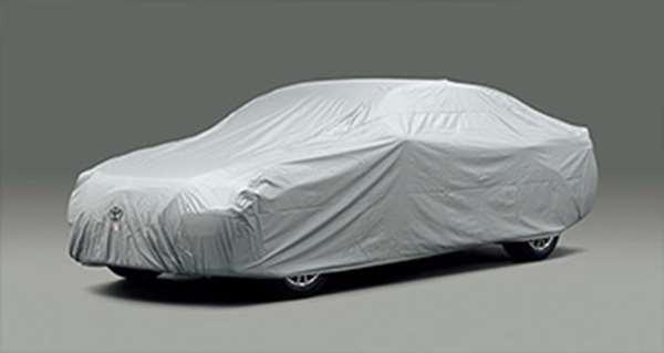 『クラウンアスリート』 純正 ARS210 AWS210 GRS211 GRS214 AWS211 カーカバー 防炎タイプ(ドアミラー用) パーツ トヨタ純正部品 ボディカバー ボディーカバー 車体カバー crown オプション アクセサリー 用品