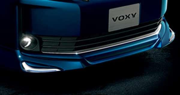 『ヴォクシー』 純正 BPXGB フロントバンパーガーニッシュ パーツ トヨタ純正部品 エアロパーツ パネル カスタム voxy オプション アクセサリー 用品
