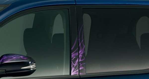 『ヴォクシー』 純正 BPXGB ピラーガーニッシュ 陽炎 パーツ トヨタ純正部品 エアロパーツ voxy オプション アクセサリー 用品