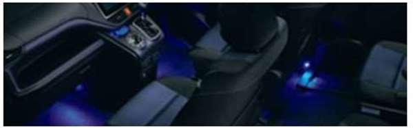 『ヴォクシー』 純正 BPXGB インテリアイルミネーション 2モードタイプ 本体のみ ※スイッチ別売り パーツ トヨタ純正部品 照明 明かり ライト voxy オプション アクセサリー 用品