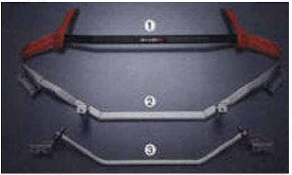『フェアレディーZ』 純正 Z34 HZ34 S-tune ボディブレースセット(ラゲッジルーム+アンダーフロア+フロント) 8HZ81 パーツ 日産純正部品 FAIRLADYZ オプション アクセサリー 用品