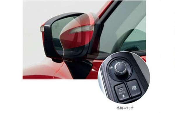 『CX-5』 純正 KEEFW KE2AW KE2FW KE5AW KE5FW 自動格納ドアミラー パーツ マツダ純正部品 オプション アクセサリー 用品