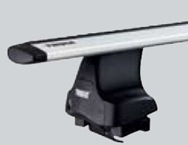『THULEシステムキャリア』 純正 ルーフオンタイプ フット ラピッド754 4個入り パーツ スバル純正部品 オプション アクセサリー 用品