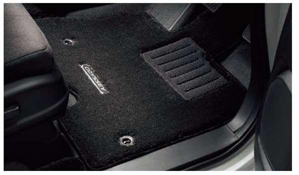 『オデッセイ』 純正 RC4 RC1 RC2 フロアカーペットマット 1、2、3列目用セット プレミアムタイプ パーツ ホンダ純正部品 フロアカーペット カーマット カーペットマット オプション アクセサリー 用品