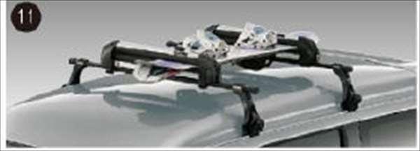 『アトレーワゴン』 純正 S321G S331G スキー/スノーボード アタッチメント(平積み) パーツ ダイハツ純正部品 キャリア別売りキャリア別売り オプション アクセサリー 用品