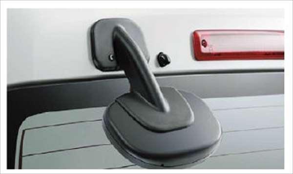 『アトレーワゴン』 純正 S321G S331G レインクリアリングミラー(ブルー) パーツ ダイハツ純正部品 親水性 ドアミラー 視界雨 オプション アクセサリー 用品