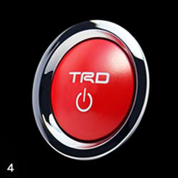 TRD プッシュスタートスイッチ [ MS422-00001(89611-SP000 ] ブレイド AZE154H AZE156H 適合 全車 (必要個数 1個)