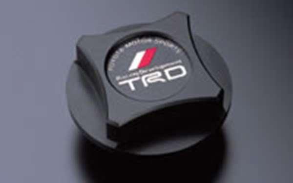TRD オイルフィラーキャップ 樹脂製(ブラック [ MS112-00001] マークX GRX130 適合 全車 (必要個数 1個)