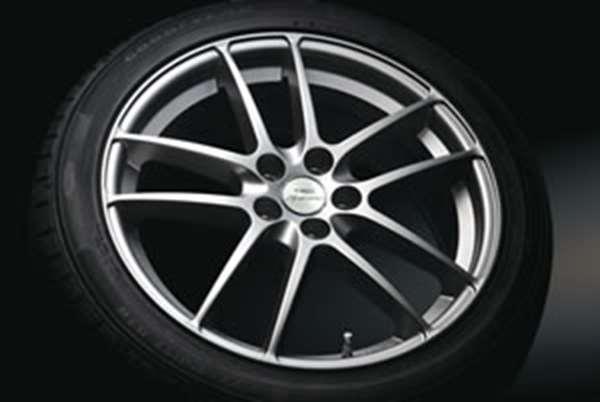 """TRD 17 英寸铝合金轮毂""""SP6' & 轮胎设置 [MS214-47008] * 1 是空的销售 Prius 普锐斯 PHV ZVW30 (所需数目 4)"""