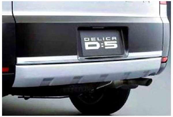 【デリカD:5】純正 CV2W テールゲートプロテクター パーツ 三菱純正部品 荷台モール アオリ DELICA オプション アクセサリー 用品