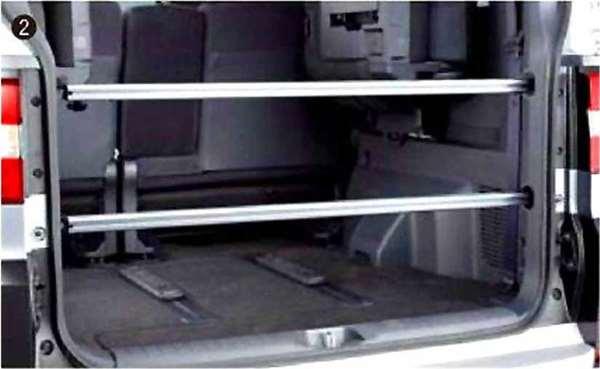 『デリカD:5』 純正 CV2W ラゲッジレールバー パーツ 三菱純正部品 DELICA オプション アクセサリー 用品