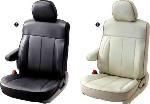 『デリカD:5』 純正 CV2W シートカバー 本皮調 パーツ 三菱純正部品 座席カバー 汚れ シート保護 DELICA オプション アクセサリー 用品