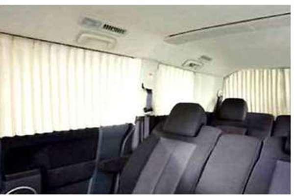 『デリカD:5』 純正 CV2W サイドカーテン パーツ 三菱純正部品 DELICA オプション アクセサリー 用品