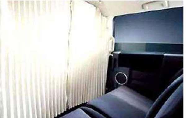 『デリカD:5』 純正 CV2W パーティションカーテン パーツ 三菱純正部品 DELICA オプション アクセサリー 用品