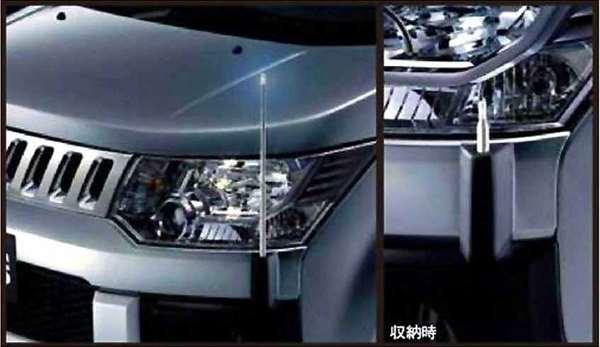 『デリカD:5』 純正 CV2W コーナーポール パーツ 三菱純正部品 DELICA オプション アクセサリー 用品
