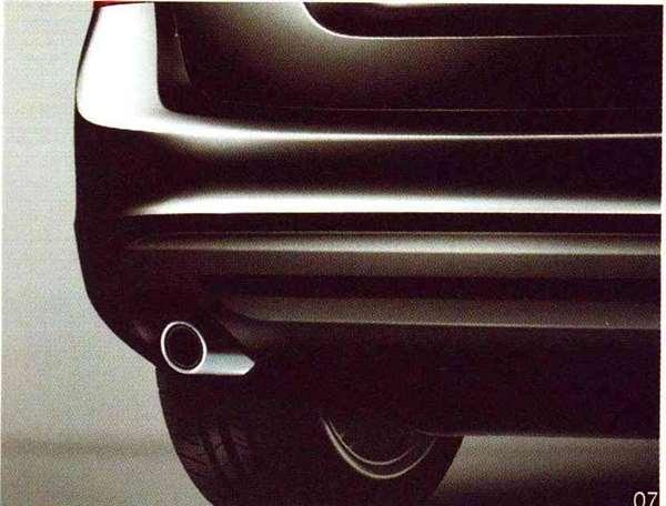 V60 S60 パーツ マフラーカッター 円形 ボルボ純正部品 FB4164T FB6304T オプション アクセサリー 用品 純正 マフラー