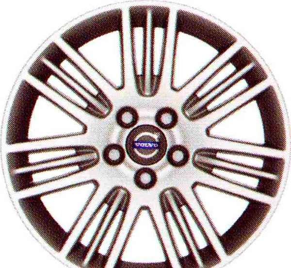 V60 S60 パーツ アルミホイール メイッサ 8×17インチ ボルボ純正部品 FB4164T FB6304T オプション アクセサリー 用品 純正 送料無料