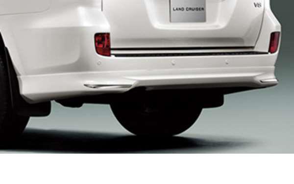 『ランドクルーザー200系』 純正 URJ202 リヤバンパースポイラー パーツ トヨタ純正部品 landcruiser オプション アクセサリー 用品