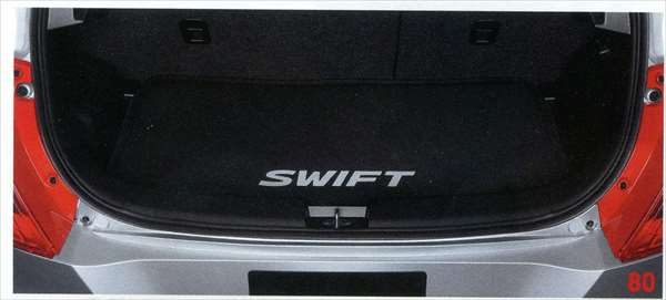 『スイフト』 純正 ZC72S ラゲッジマット(ソフトトレー) パーツ スズキ純正部品 ラゲージマット 荷室マット 滑り止め swift オプション アクセサリー 用品