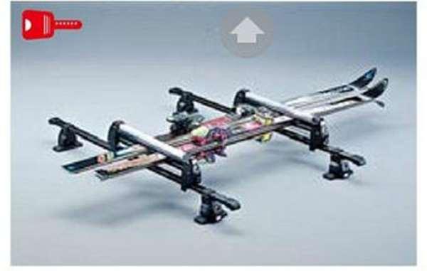 『デリカD:5』 純正 CV1W MITSUBISHI MOTORS Original スキー&スノーボードアタッチメント(平積みショート) パーツ 三菱純正部品 キャリア別売りキャリア別売り DELICA オプション アクセサリー 用品