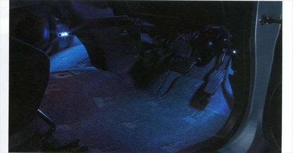 『ラパン』 純正 HE22S フットイルミネーション パーツ スズキ純正部品 照明 明かり ライト lapin オプション アクセサリー 用品