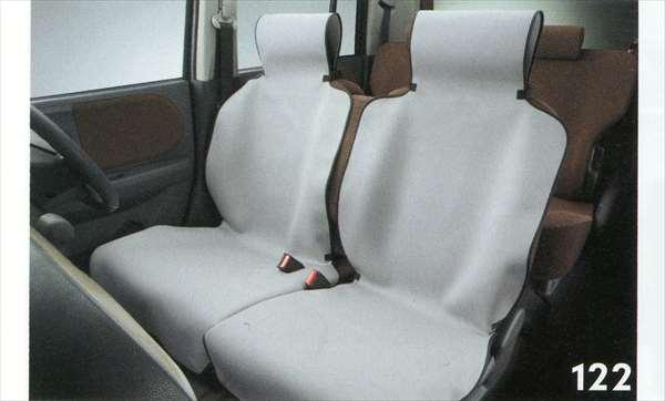 『ラパン』 純正 HE22S 防水シートカバー 運転席用 パーツ スズキ純正部品 座席カバー 汚れ シート保護 lapin オプション アクセサリー 用品