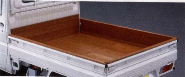 『クリッパートラック』 純正 U71V 木製荷台プロテクター フロント パーツ 日産純正部品 CLIPPER オプション アクセサリー 用品