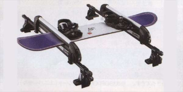 『ミライース』 純正 LA300S LA310S スキー/スノーボードアタッチメント(平積) パーツ ダイハツ純正部品 キャリア別売り mirae:s オプション アクセサリー 用品