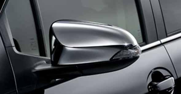 『ヴィッツ』 純正 NCP131 メッキドアミラーカバー パーツ トヨタ純正部品 サイドミラーカバー カスタム vitz オプション アクセサリー 用品