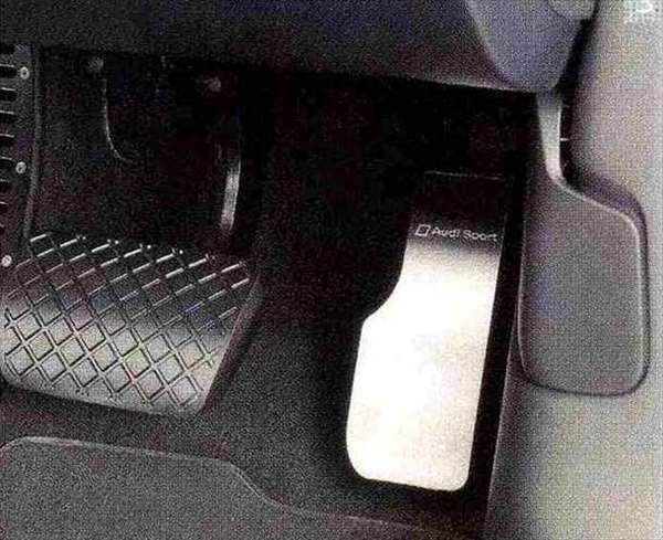 A6・S6 パーツ アクセルペダルカバー(右ハンドル車用) アウディ純正部品 4GCHVS 4GCGWS 4GCEUA オプション アクセサリー 用品 純正 ステアリング