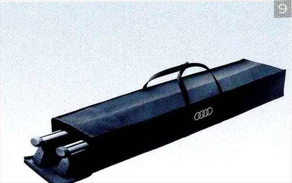 A6・S6 パーツ ルーフバーケース アウディ純正部品 4GCHVS 4GCGWS 4GCEUA オプション アクセサリー 用品 純正