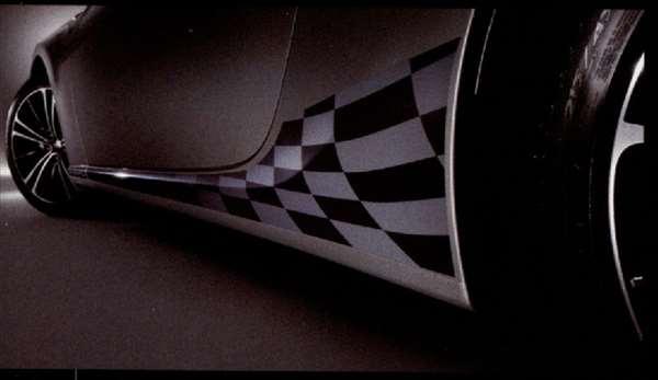 『BRZ』 純正 ZC6 ボディグラフィック ロア パーツ スバル純正部品 ステッカー シール ワンポイント オプション アクセサリー 用品