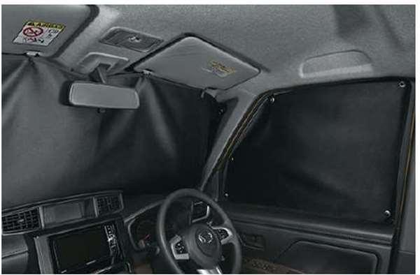 『トール』 純正 M900S M910S プライバシーシェード(フロント) パーツ ダイハツ純正部品 日除け サンシェード サンシェイド オプション アクセサリー 用品