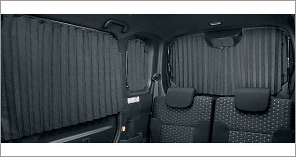 『ピクシスメガ』 純正 GBVZ GBMF GBDF 室内カーテン 1台分 パーツ トヨタ純正部品 目隠し 日除け スモーク pixis オプション アクセサリー 用品